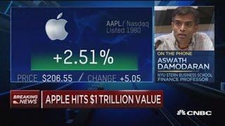 Apple still has 'significant upside' after hitting $1 trillion market cap: Gene Munster