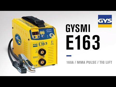 GYS - Tutoriel sur le poste à souder GYSMI E163