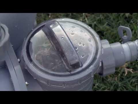 Montaggio e manutenzione filtro a sabbia Bestway | San Marco
