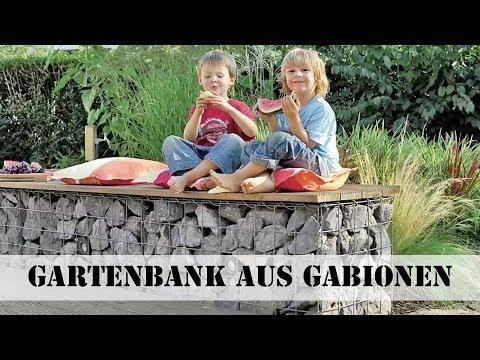 Gabionen-Gartenbank selber bauen | selbst.de
