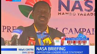 Paybill number Kenyans can use to support Raila Odinga's campaign