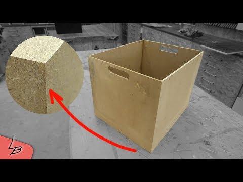 Holzkiste selber bauen   Perfekte Gehrungen! So gehts