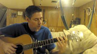 Doc Watson style of the traditional song Alberta