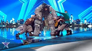GAME OF THRONES' Giant Sends VIKINGS To VALHALLA! | Auditions 5 | Spain's Got Talent Season 5