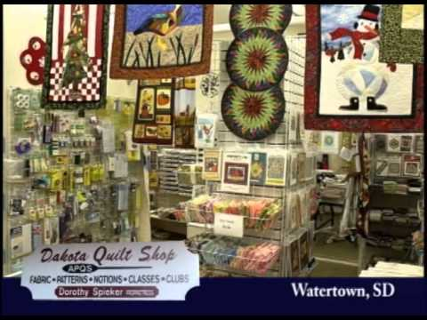 Watertown South Dakota's Dakota Quilt Shop On Our Story's The Tourists