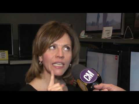 Marcela Morelo video Entrevista - La Noche de las Disquerías 2016