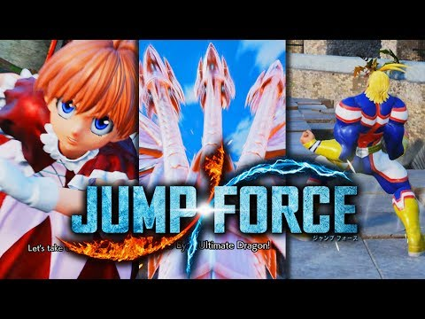 ALL 3 NEW JUMP FORCE Character's Finished Special Moves & Awakening Techniques!
