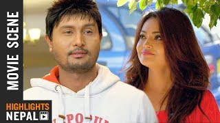 Nepali Pani Puri | New Nepali Movie HAPPY NEW YEAR Scene 2018 | Ft. Kushal Thapa, Sandhya K.C