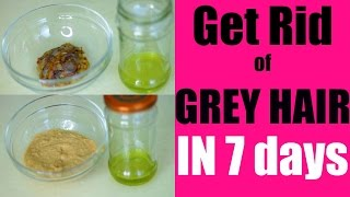 Get Rid of Grey Hair Naturally in 7 Days | SuperPrincessjo