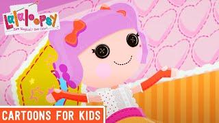 Lalaloopsy - The Big Sleepover | Lalaloopsy Webisode Compilation | Full Episodes | Cartoons For Kids