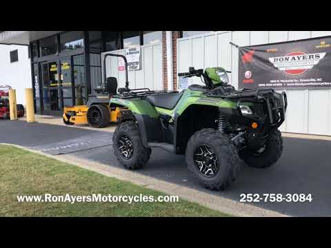 2020 Honda FourTrax Foreman Rubicon 4x4 Automatic DCT EPS Deluxe in Greenville, North Carolina - Video 1