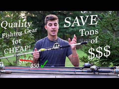 How to get EXPENSIVE Fishing Gear for CHEAP!