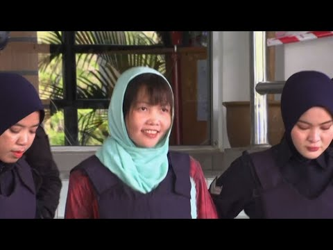 A Vietnamese woman who is the only suspect in custody for the killing of the North Korean leader's half brother pleaded guilty to a lesser charge in a Malaysian court on Monday. Doan Thi Huong'slawyer says she could be freed next month. (April 1)
