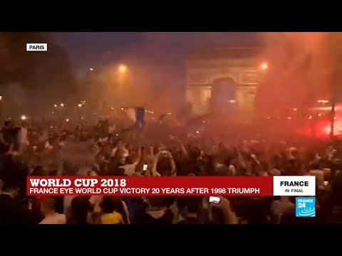 Winning the World Cup can bring French people together