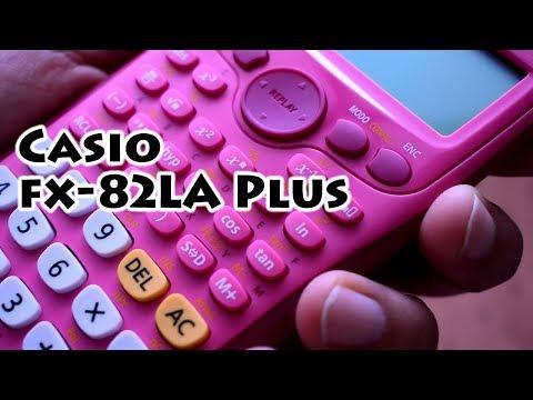 Casio fx-82LA Plus - Pink Scientific Calculator - Gaak