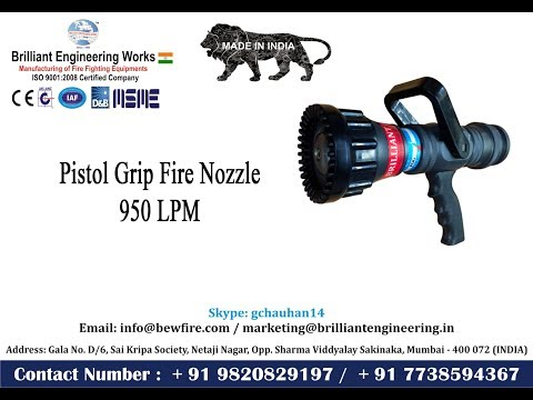 Selectable Gallonage Handline Nozzles