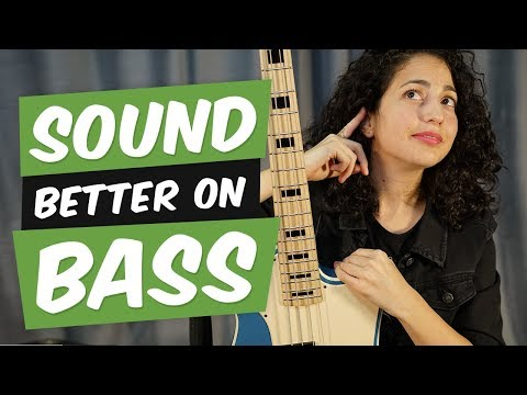 5 Tips on how to SOUND better on Bass Guitar