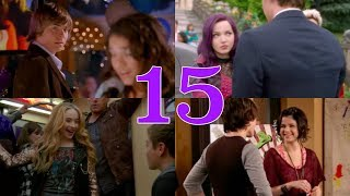 """Top 15 Disney Channel """"Love At First Sight"""" Moments!!"""