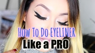 How To Wing Your EYELINER Like A PRO | In Depth | Tips & Tricks