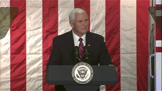 Vice Mike President Pence Discusses Lunar Exploration at NASA's Ames Research Center by NASA
