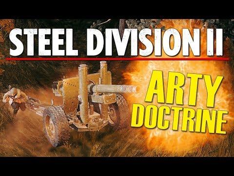 ARTILLERY DOCTRINE! Steel Division 2 Beta Conquest Gameplay (Orsha, 4v4)