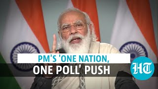 Watch: PM Modi explains why India needs 'One Nation, One election'