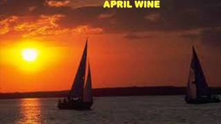 Maurice André Foucher  YOU WON'T DANCE WITH ME   April Wine