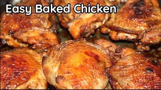 Baked Chicken Recipe | Filipino-Style