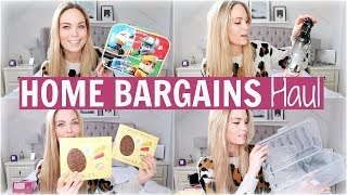 HOME BARGAINS HAUL | FEBRUARY 2019   EASTER, HOME, CLEANING + MORE