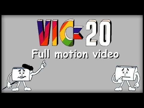 VIC-20 full motion video
