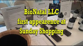 BioNatal black seed products stand