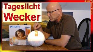 Philips Wake Up Light - Tageslicht Wecker - Lichttherapie - entspannt einschlafen u. aufwachen Tipp