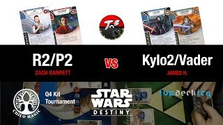 eRey & ePoe vs eKylo & Darth Vader
