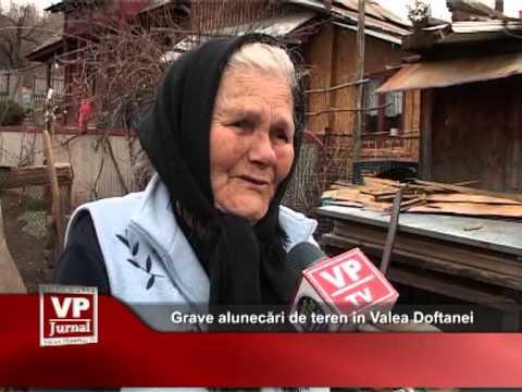 Grave alunecări de teren în Valea Doftanei