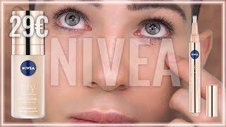 Ehrlicher Nivea Hy Make Up/  Neue Foundation/ Concealer und Serum Test Anti Aging für Ältere Haut