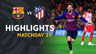 Highlights FC Barcelona vs Atletico de Madrid (2-0)