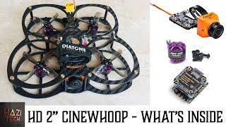 HD 2 Inch Cinematic Micro Quad (Cinewhoop) Build | What's Inside