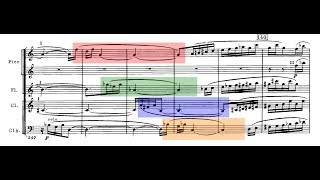 Brilliant Interval Canon in Shostakovich Symphony No. 4, Movement 2