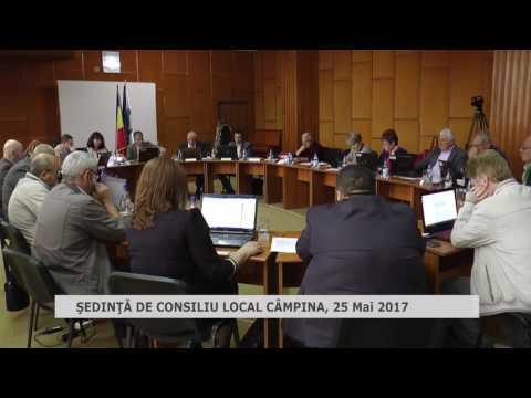 Ședință Consiliul Local Câmpina 25 mai 2017