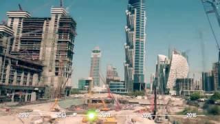 Dubai Construction Timeline TimeLapse 2017