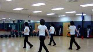 Rollin' With The Flow - Line Dance