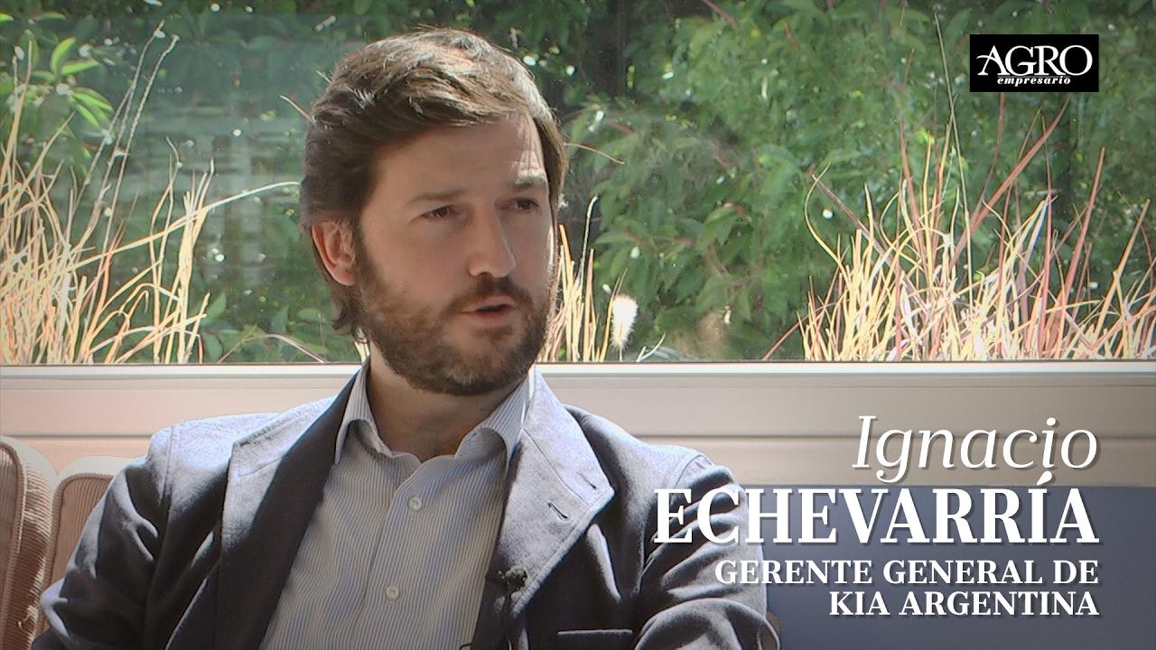 Ignacio Echevarría - Gerente General de Kia Argentina