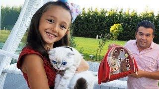 Öykü and Little Kitten surprise