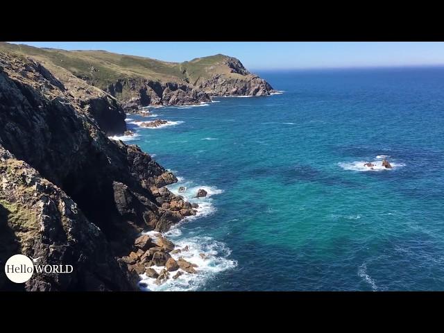 Steilküste Richtung Finisterre