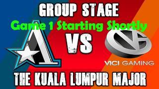 VG Vs Aster Group Stage - The Kuala Lumpur Major Dota 2