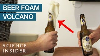 Why Tapping Beer Bottles Makes A Foam Explosion