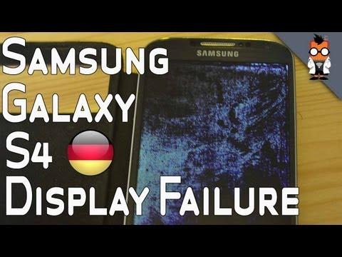 Samsung Galaxy S4 - Mysterioeser Display-Fehler [Deutsch - German]