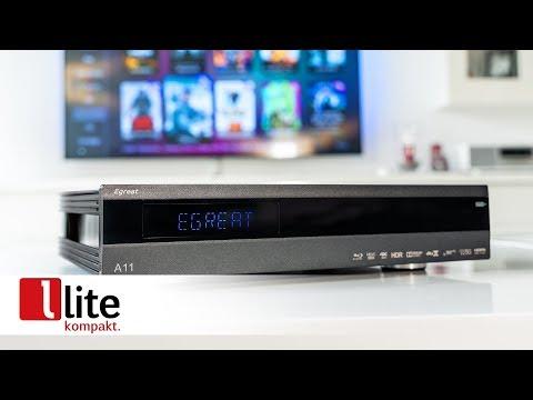 Egreat A11 4K UHD-Mediaplayer mit Posterfunktion und Blu-ray Menü Wiedergabe - vorgestellt