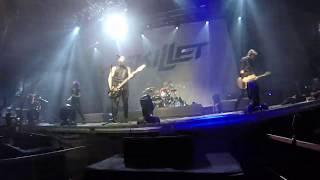 Skillet   Legendary (NEW SONG Irkutsk LIVE 2019)