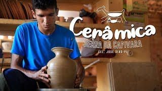 Conheça o Piauí: Ceramica Serra da Capivara